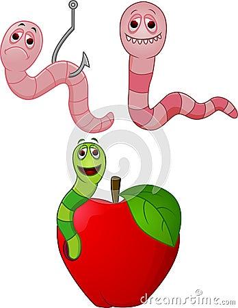 漫画人物蠕虫