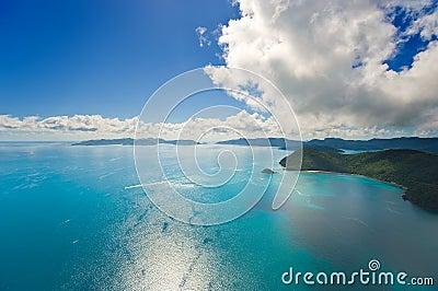 澳大利亚的Whitsunday海岛