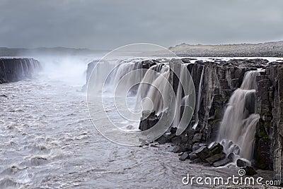 瀑布,冰岛