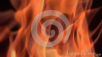 火火焰细节 股票录像