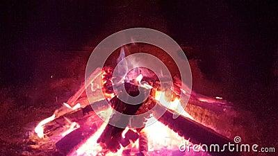 灼烧的壁炉