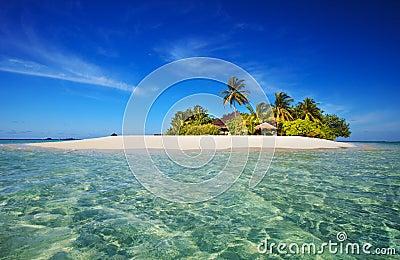 热带海岛的天堂