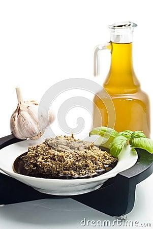 热那亚Pesto的alla,蓬蒿调味汁