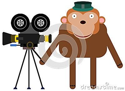照相机大猩猩