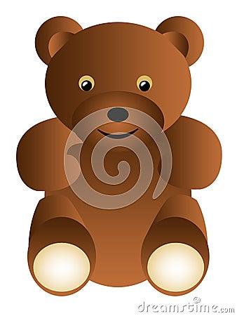 熊棕色黑暗的查出的女用连杉衬裤.图片