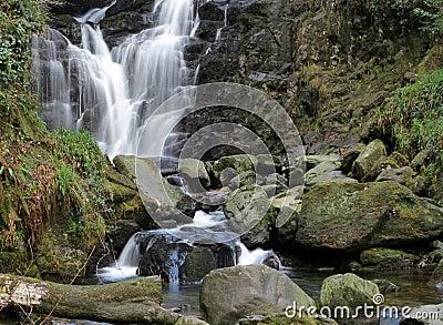爱尔兰torc瀑布
