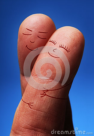 爱的手指人