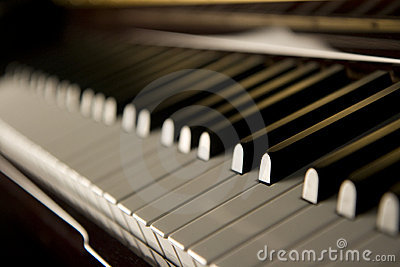 爵士乐锁上钢琴