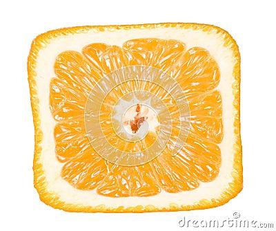 特写镜头桔子正方形图片