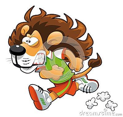 狮子赛跑者