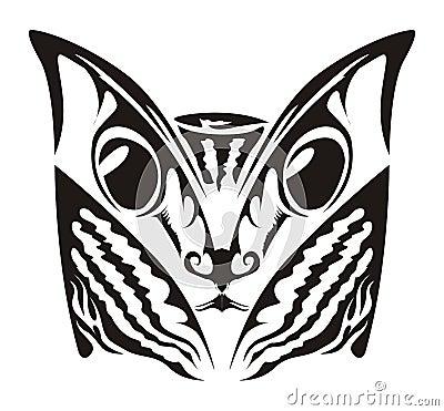 猫纹身花刺