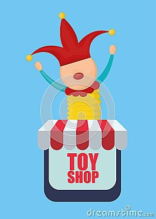 戏弄商店概念,并且童年象设计,导航例证10 eps图表.图片