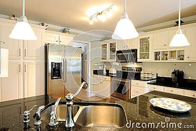 现代的厨房