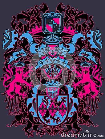 现代设计的纹章