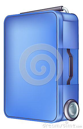 现代蓝色台车盒