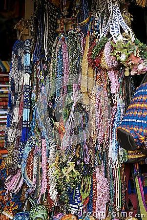 珠饰细工危地马拉人