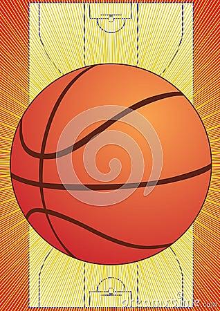 球篮球场比赛.图片