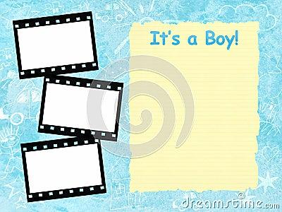 男孩结构其模板