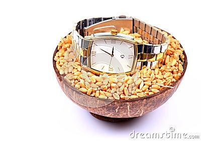 男性手表腕子