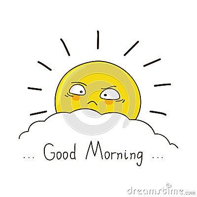 早晨好囹�a�i)�aj_疲乏的太阳祝愿您早晨好