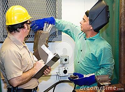 监督员焊工