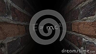 相对论爱因斯坦 黑暗的迷宫 39 皇族释放例证
