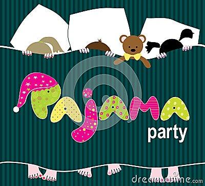 睡衣派对卡通图片展示图片