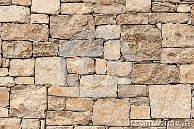 石灰石块墙壁毛面.