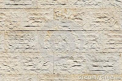 石灰石墙壁