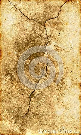 破裂的ii表面