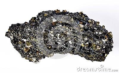 硫铁矿和方铅矿