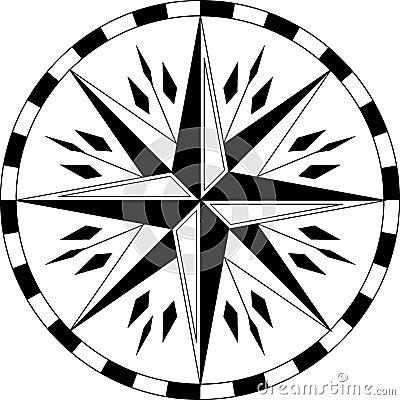 小臂指南针箭头纹身分享展示