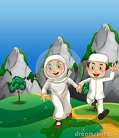 穆斯林和公园图片