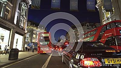 穿越英国伦敦市 股票视频