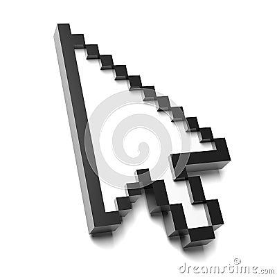 箭头鼠标图片