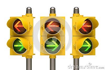红绿灯箭头