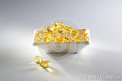 纯的鱼肝油