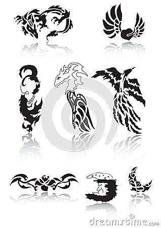 纹身花刺 免版税库存照片 - 图片: 4977615