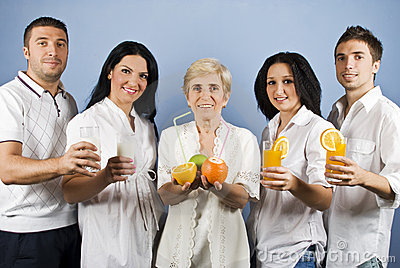 组健康人员