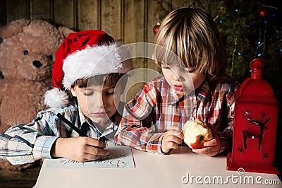 给圣诞老人的信函