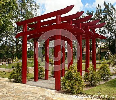 给torii装门