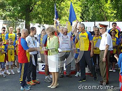 罗马尼亚的Margareta公主 编辑类库存图片