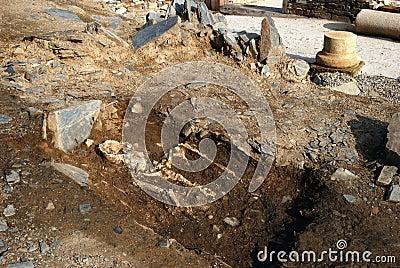 罗马的domus 编辑类照片