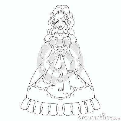 美丽的公主,彩图页图片