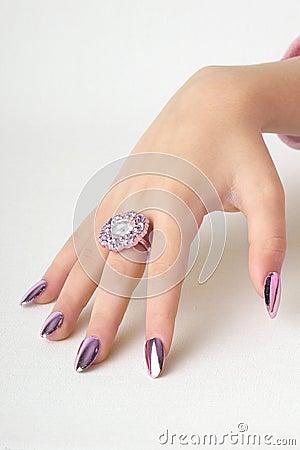 美丽的手指