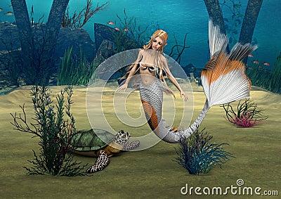 捕鱼达人+乌龟+美人鱼