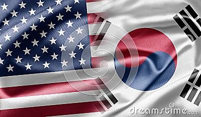 美国和南韩