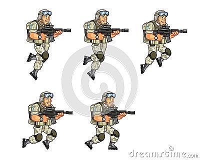 跳跃战士_美国战士跳跃的魍魉