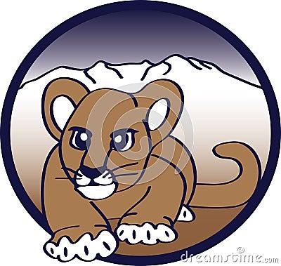 美洲狮偷偷靠近
