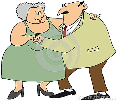 老夫妇跳舞